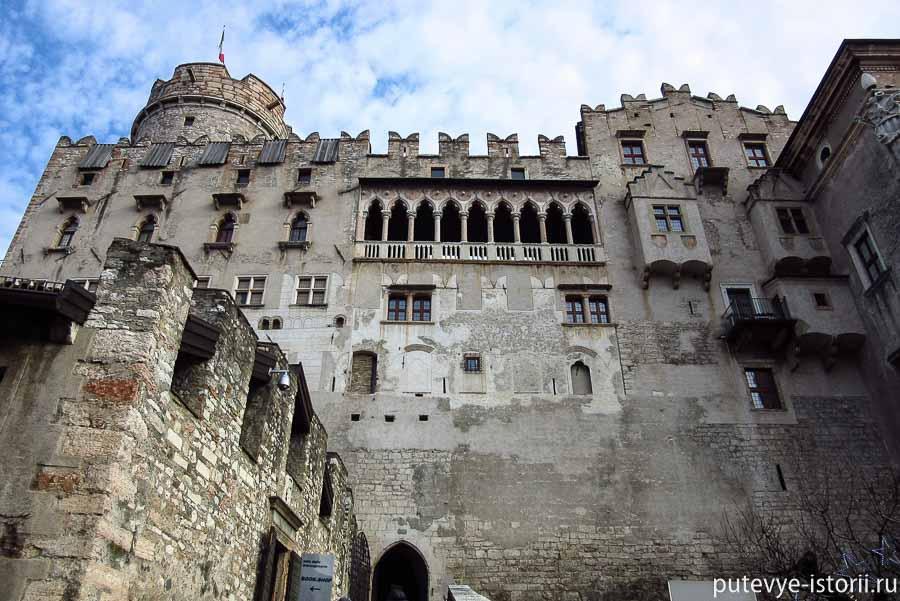 Тренто замок Буонконсильо