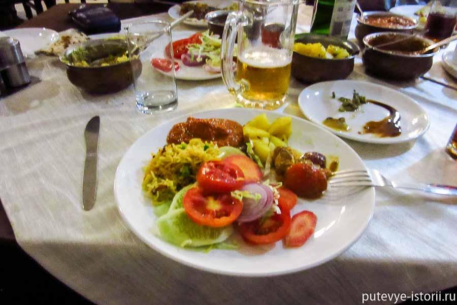 еда в Индии