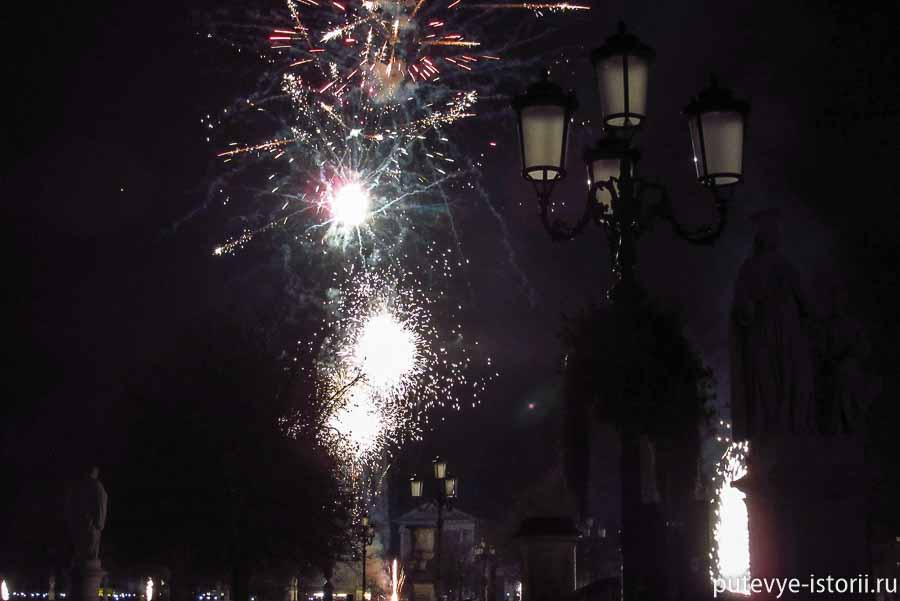 новый год в падуе