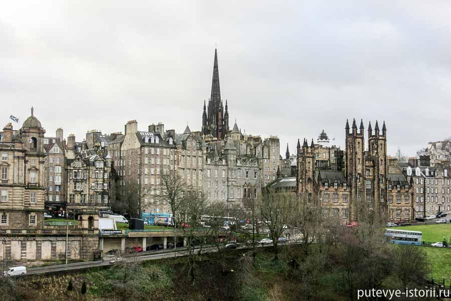 Город Эдинбург и его главные достопримечательности с описанием и фото