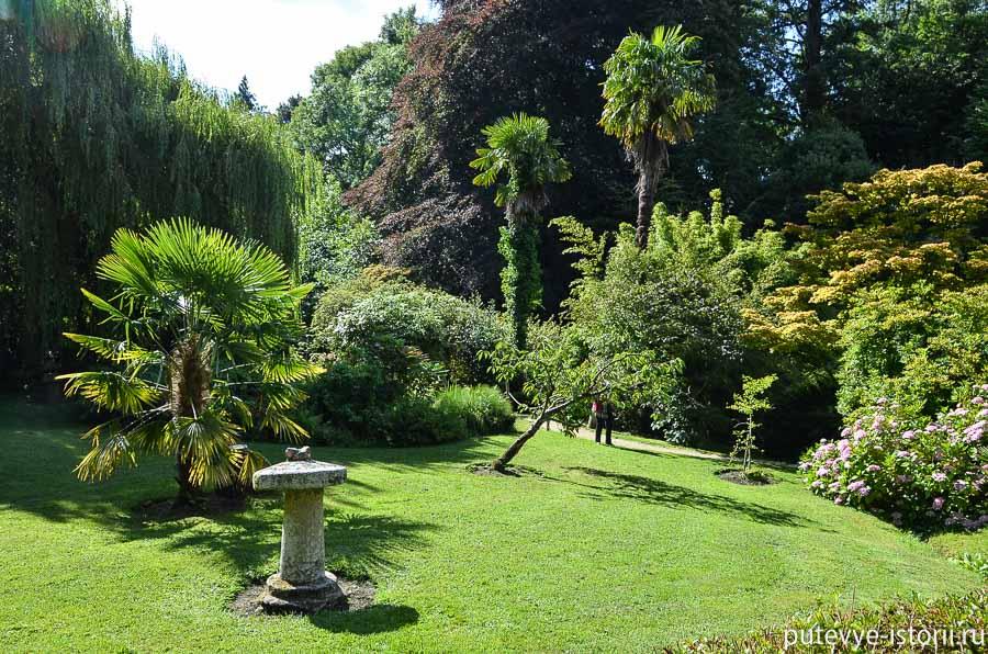 сады пауэрскорт японский сад