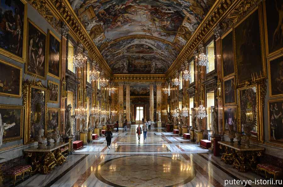 галерея колонна рим