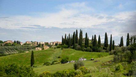 Путешествие по центральной Италии. Лацио, Умбрия, Тоскана. Побережье Одиссея