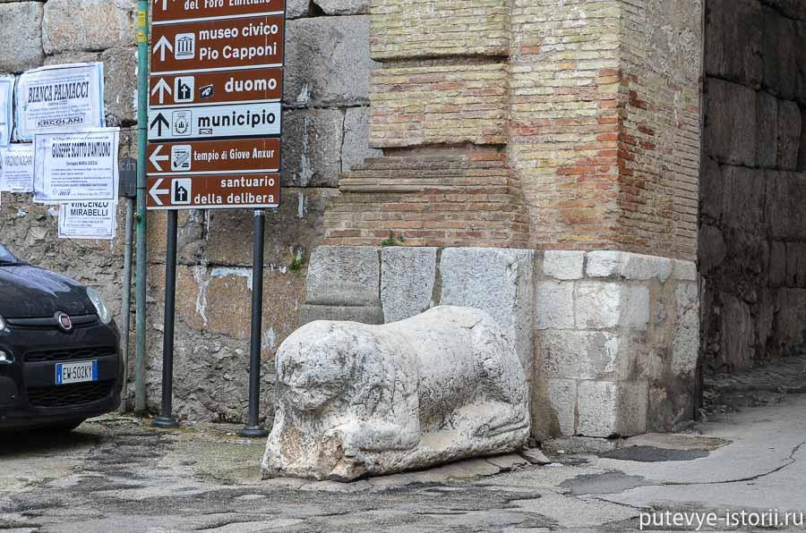 террачина римские ворота