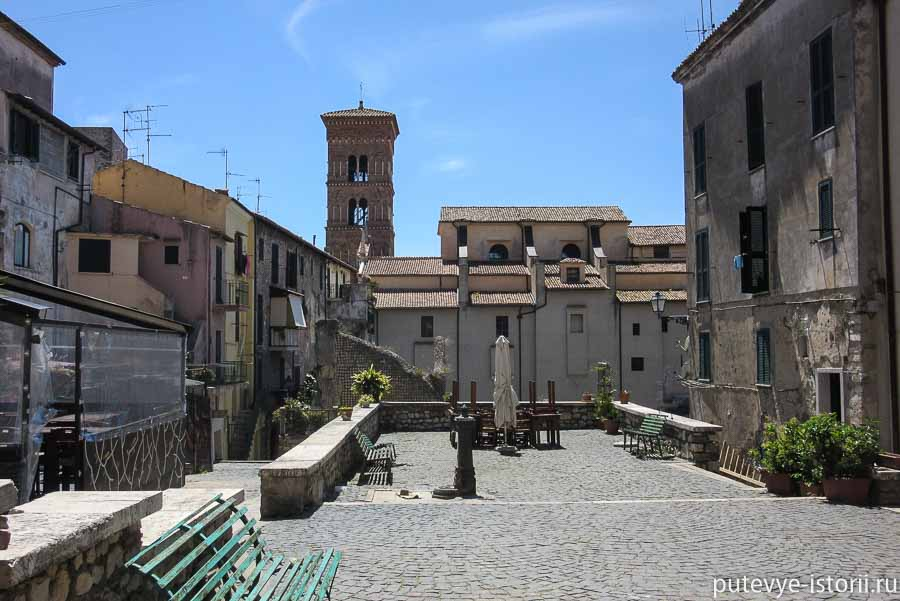 террачина старый город
