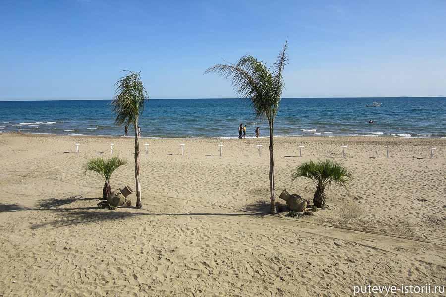 террачина пляжи