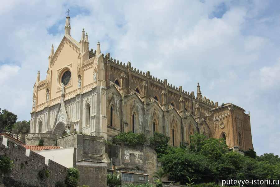 гаэта францисканский храм