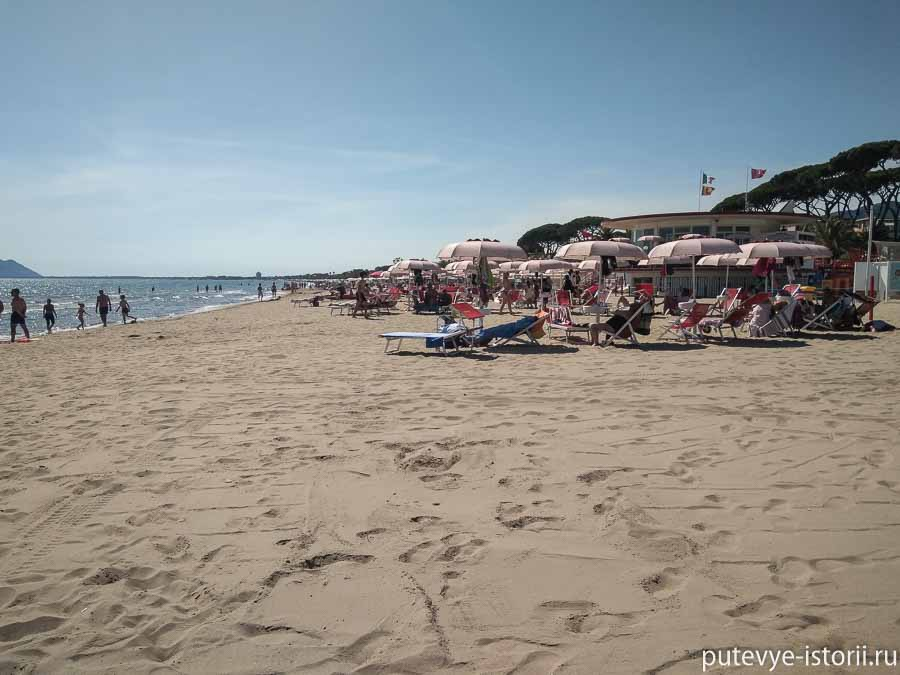 террачина пляж