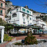 Наш отель в Амальфи
