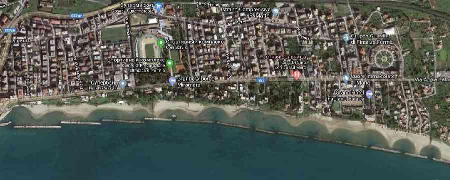 формия пляжи