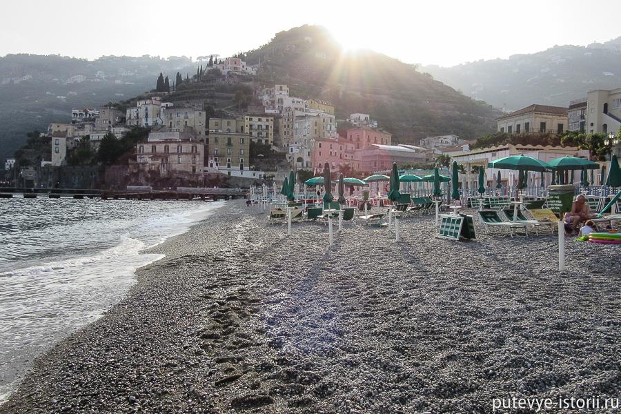 минори пляж
