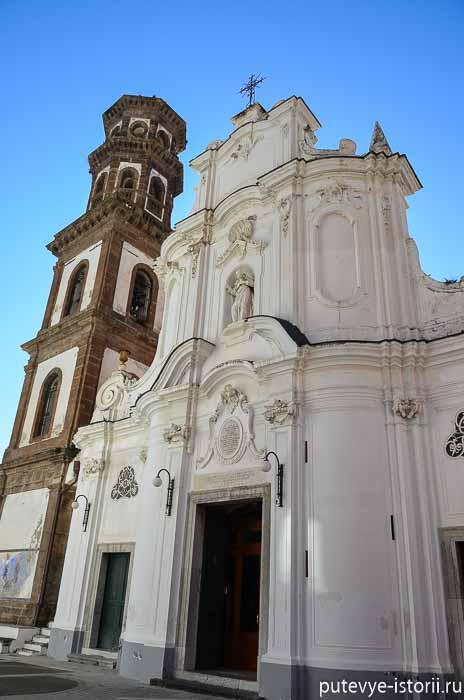 Атрани церковь святой магдалины