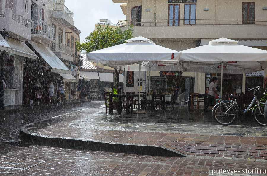 ретимно в октябре дождь