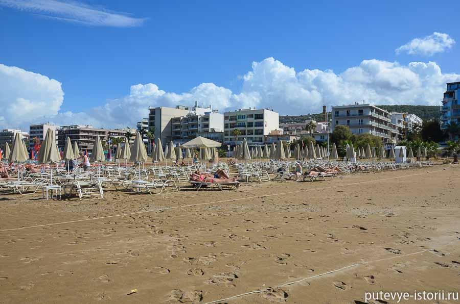 крит пляж