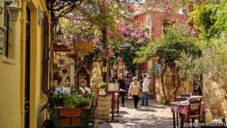 Остров Крит в октябре