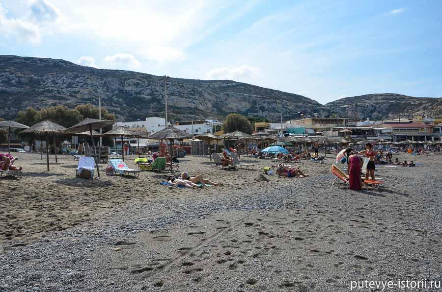 матала пляж