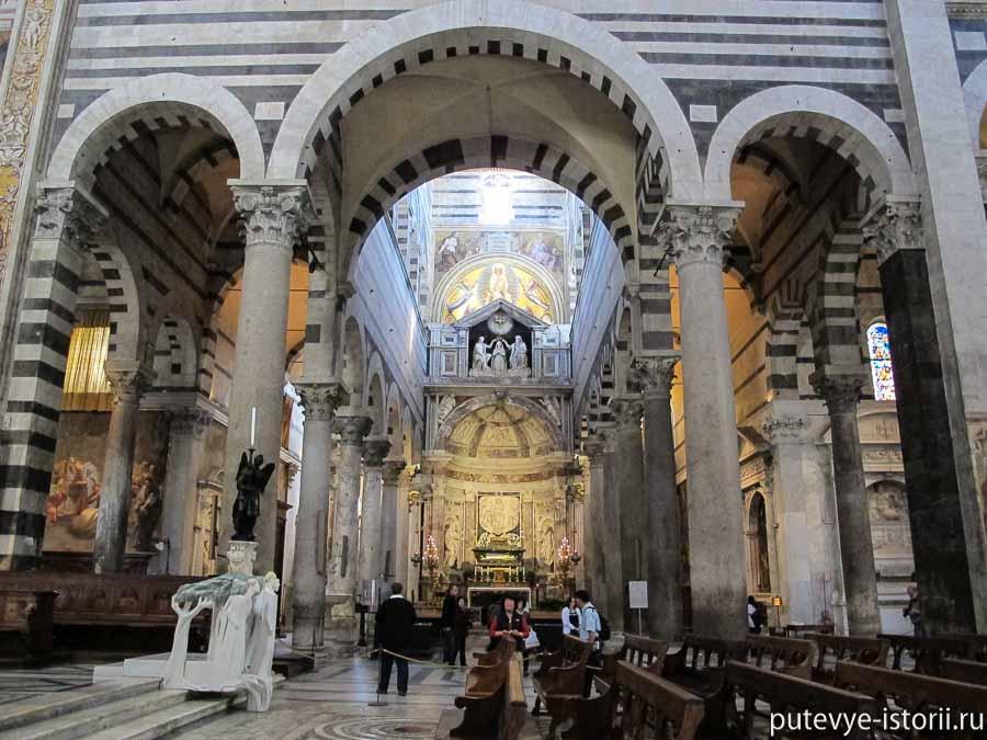 пизанский собор интерьеры