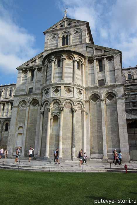 пизанский собор апсида