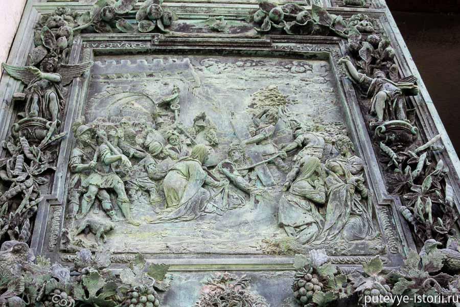 пизанский собор двери