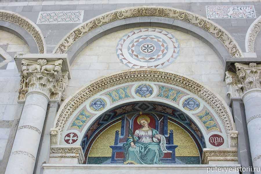 пизанский собор портал мозаика