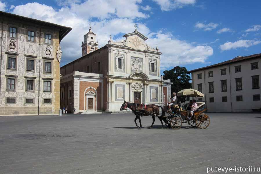пиза церковь святого стефана