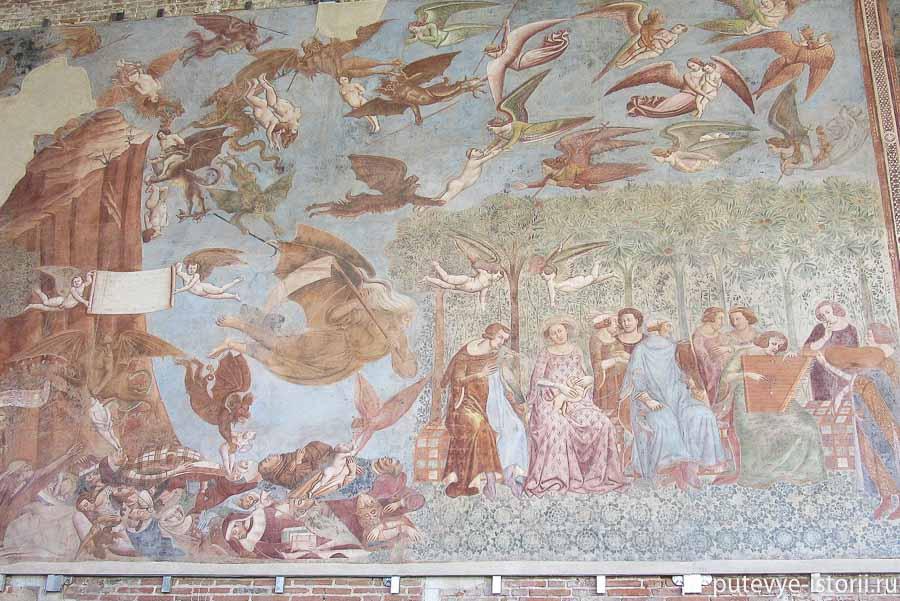 кампосанто фреска триумф смерти