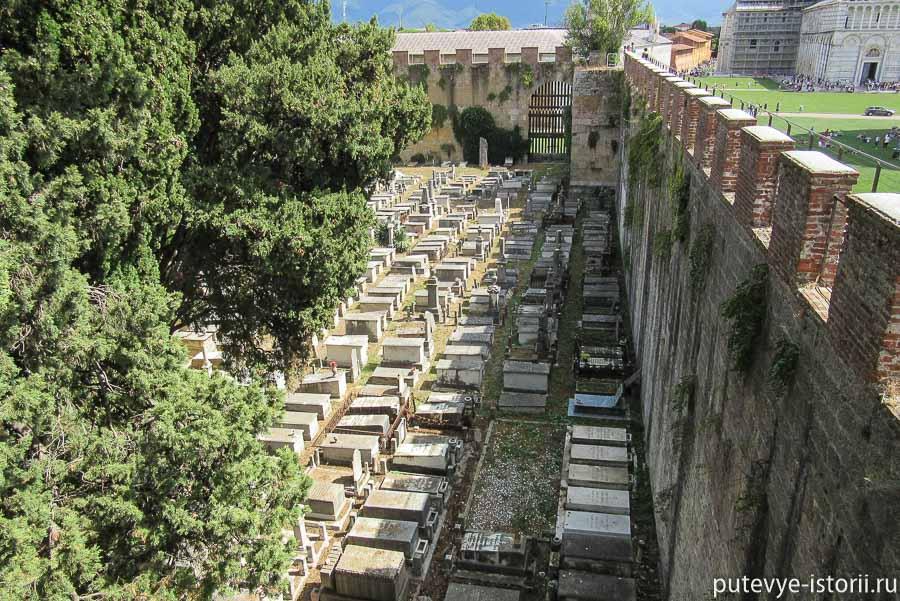 пиза еврейское кладбище