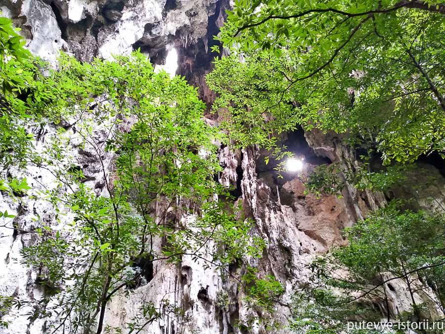хуахин, таиланд, пещера Прая Након