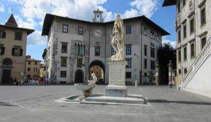 Центр Пизы, прогулка по средневековым площадям