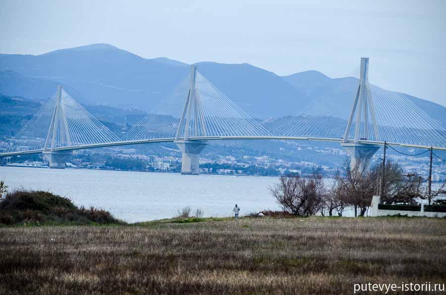 коринфский залив вантовый мост