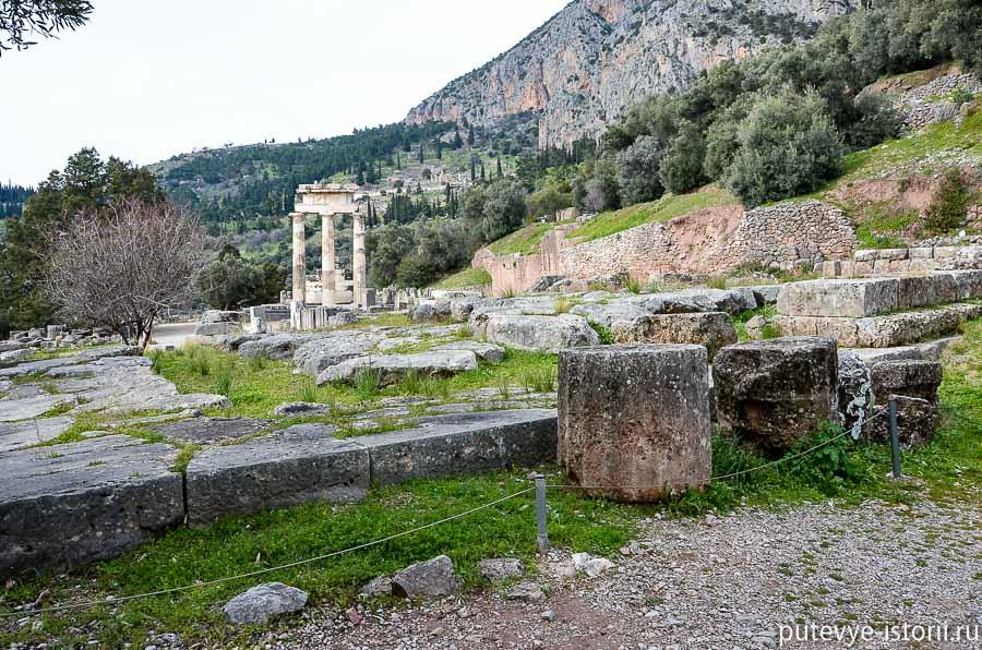 дельфы святилище Афины