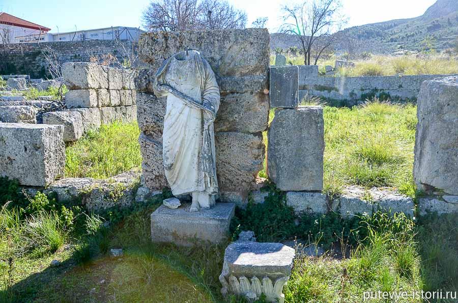 пелопоннес античный коринф