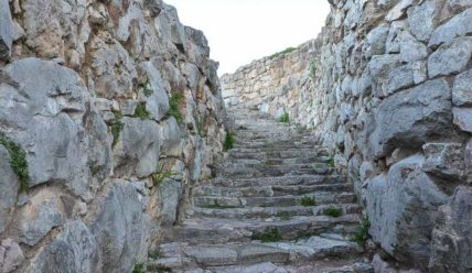 Древняя крепость Тиринф, родина Геракла
