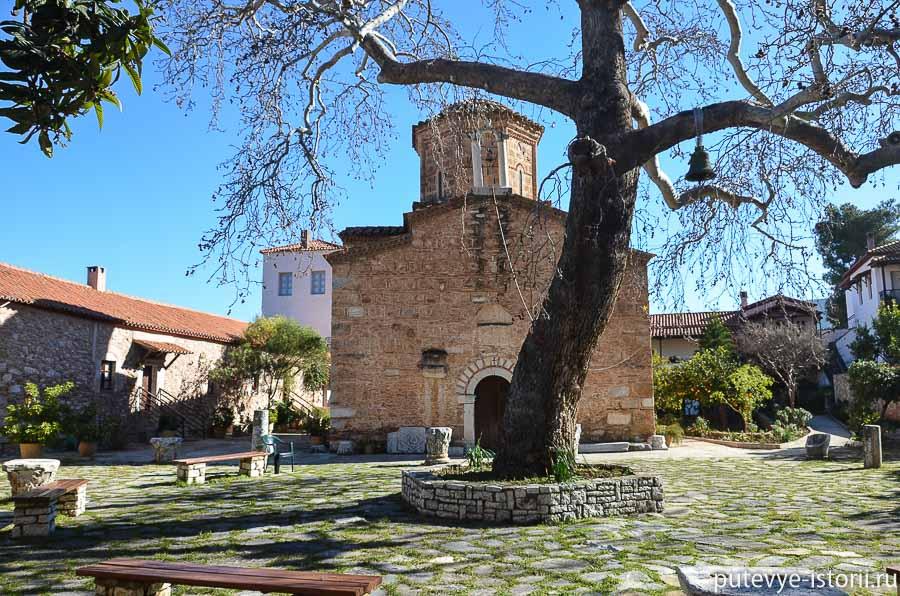 пелопоннес монастырь