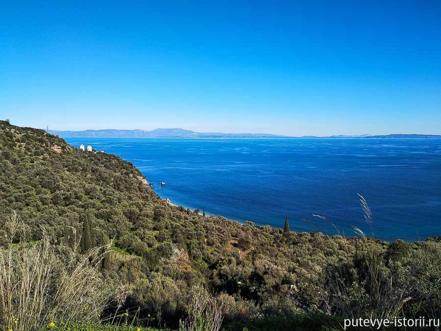 пелопоннес побережье