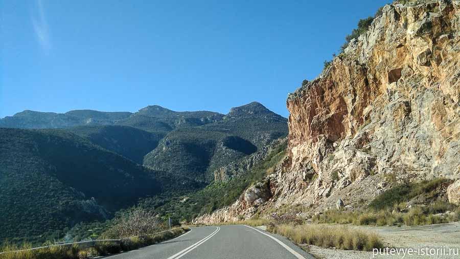 путешествие по пелопоннесу