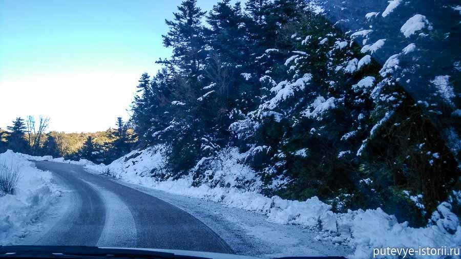 пелопоннес горные дороги