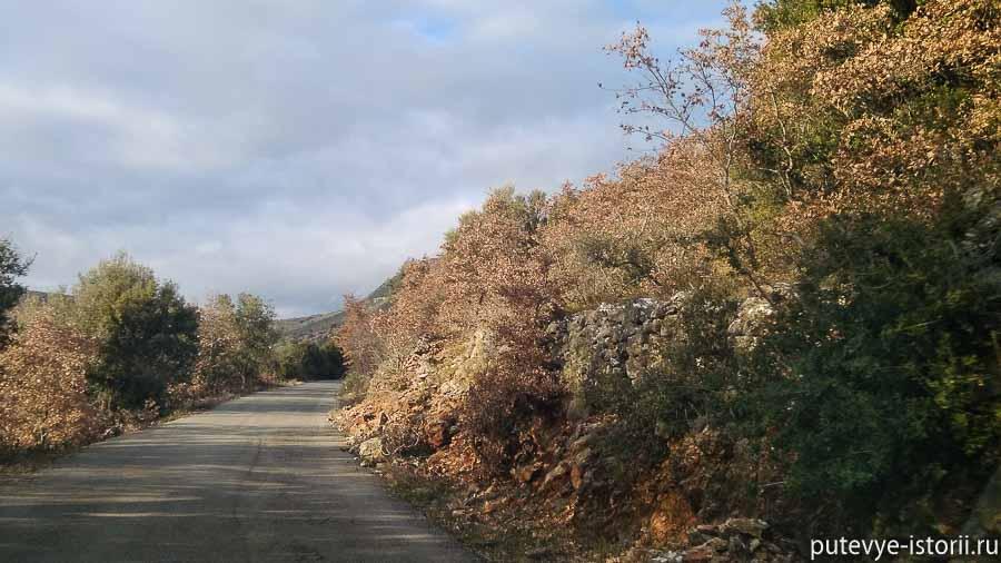 пелопоннес дорога
