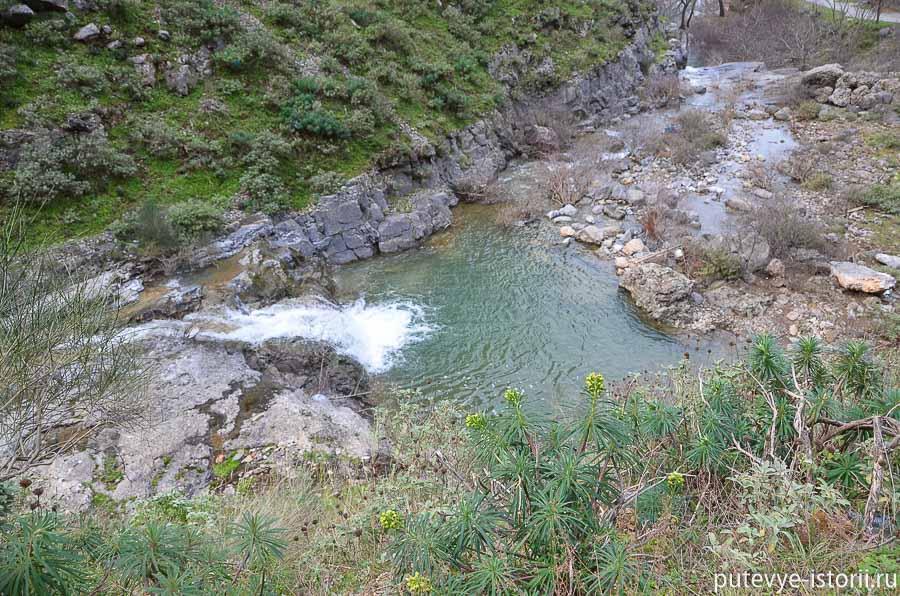 река мнемосина