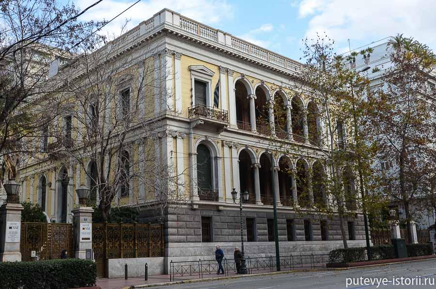 афины дом шлимана