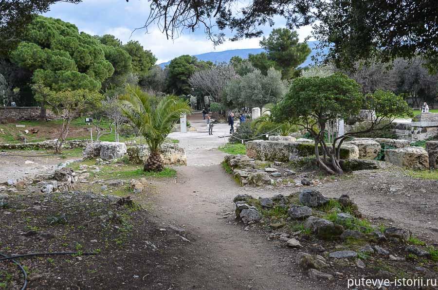афины храм зевса олимпийского