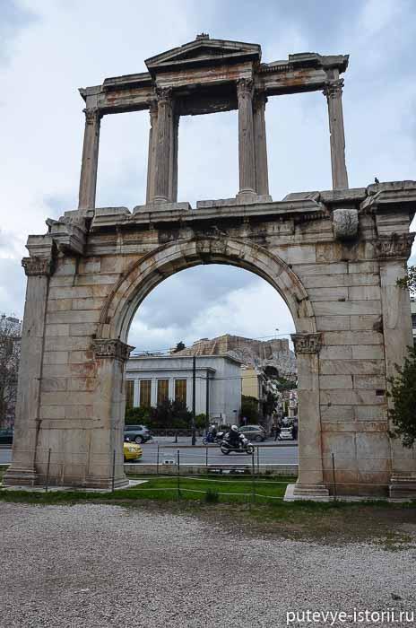 афины арка адриана