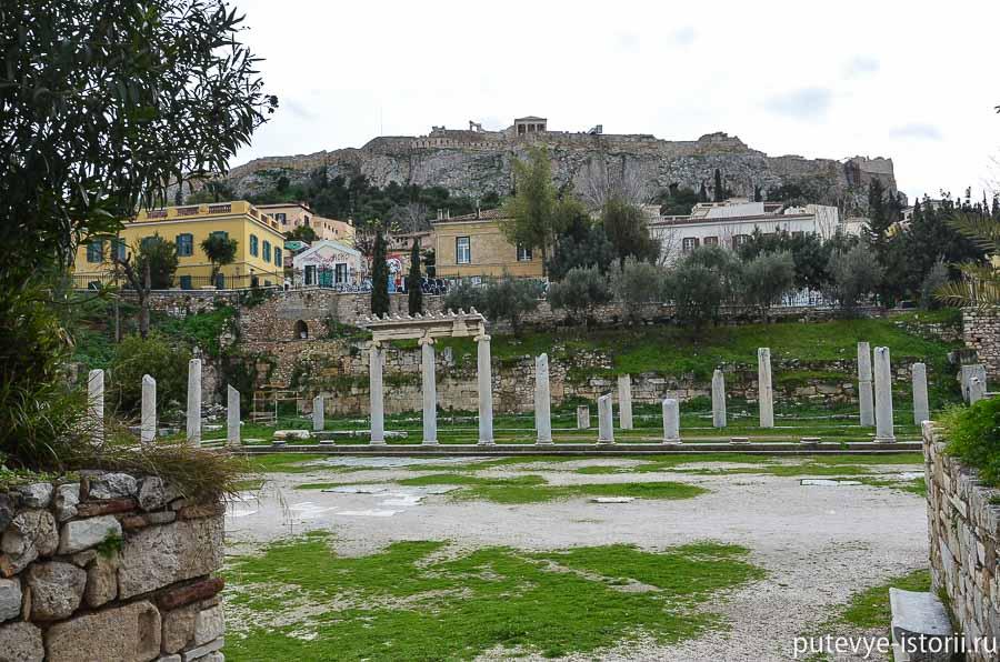 античные афины римская агора