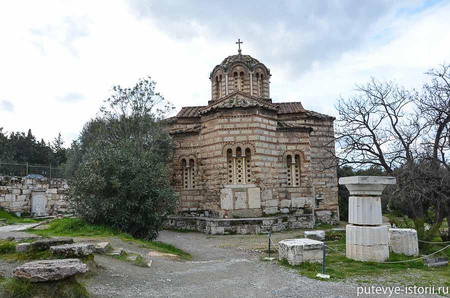 афины античная агора