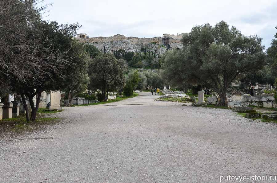 агора панафинейская дорога