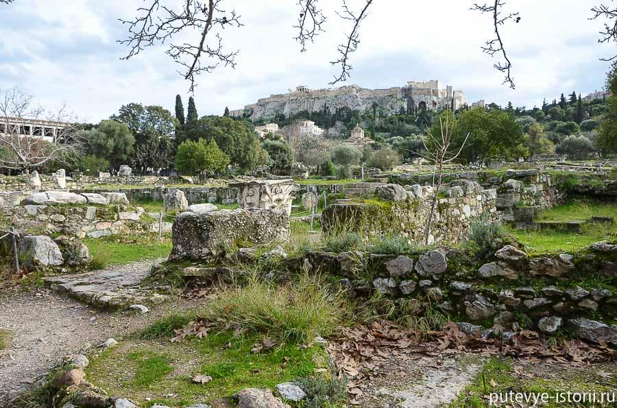 античные афины агора