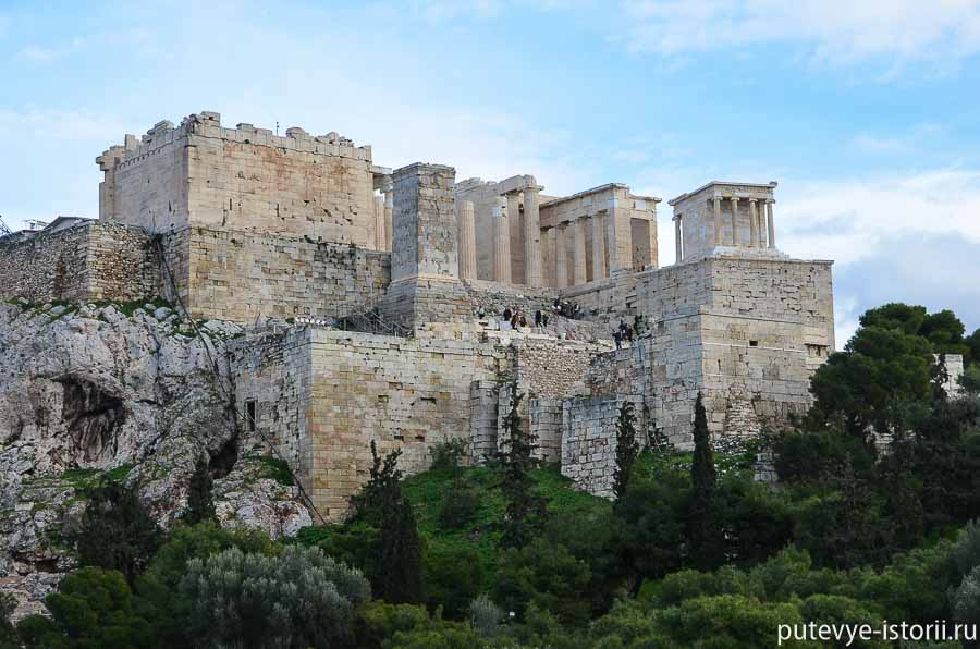 афинский акрополь пропилеи