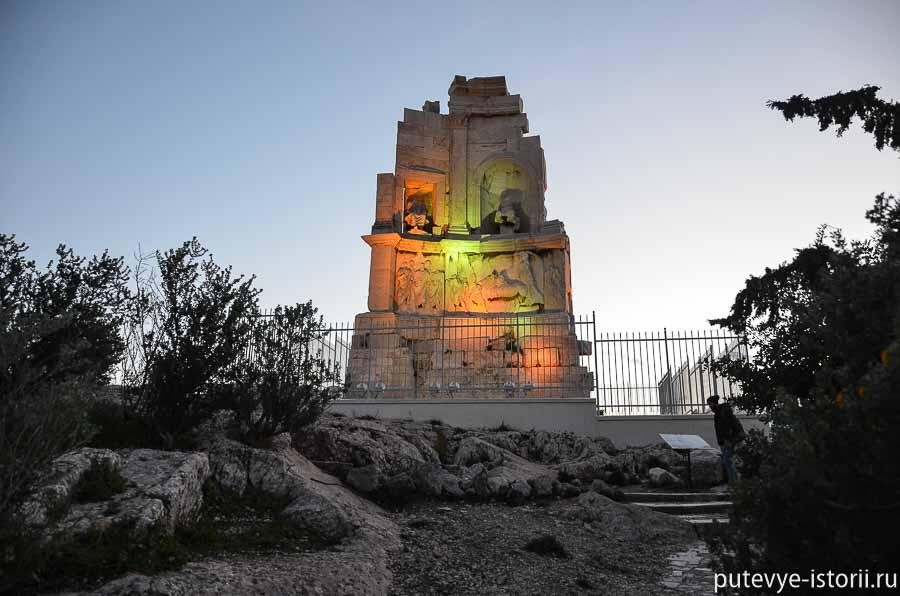 афины холм филоппапа