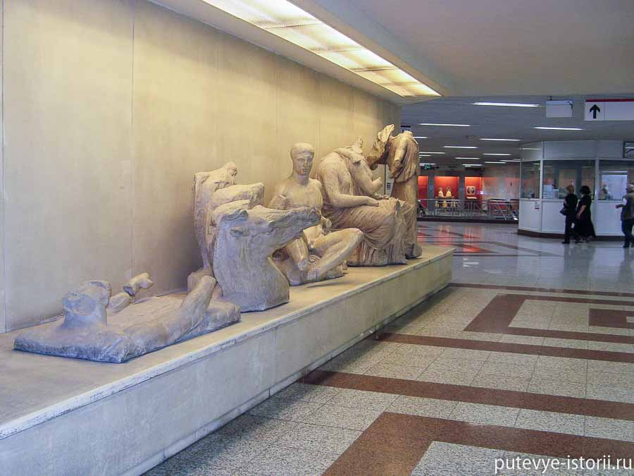 античные афины метро