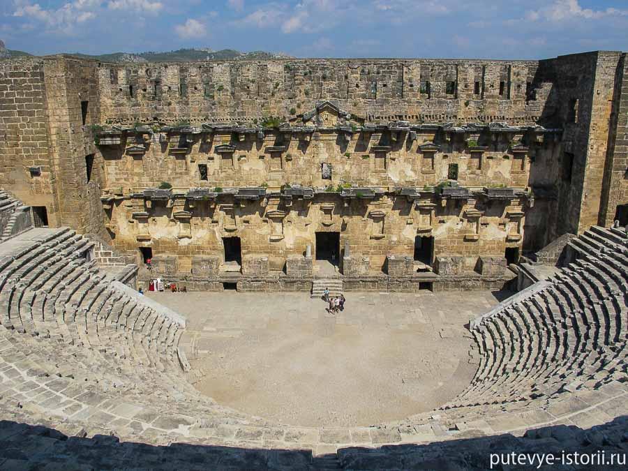 аспендос театр